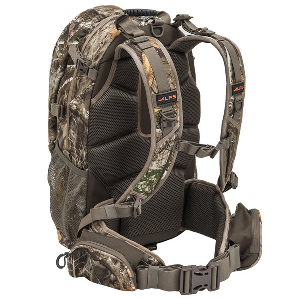 ALPS OutdoorZ Pursuit Bow Hunting Pack rear view