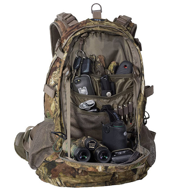 ALPS OutdoorZ Pursuit open loaded with gear