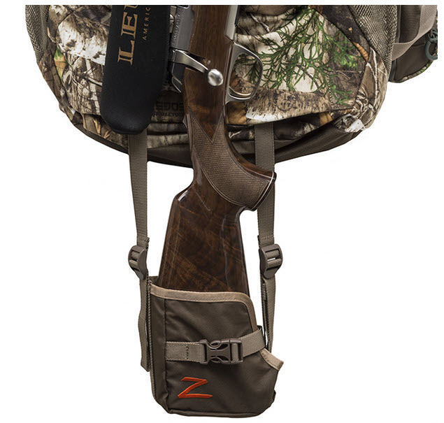 ALPS OutdoorZ Pursuit with rifle mounted in boot