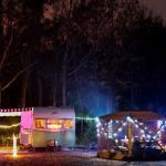 camping on christmas