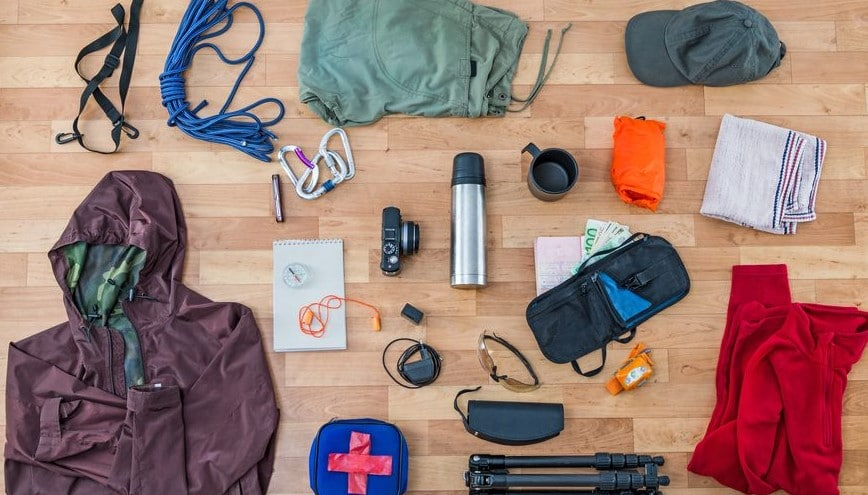 list of camping supplies