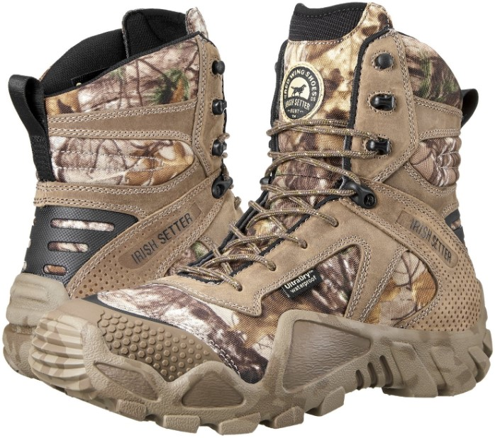Irish Setter Men's 2870 Vaprtrek Waterproof 8 Hunting Boot