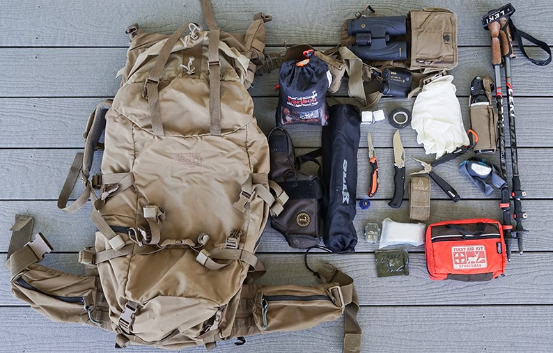 hiking tactical gear