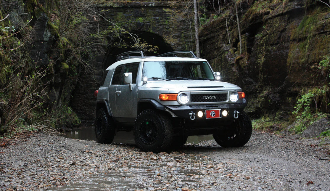 toyota suv for hunting and outdoors
