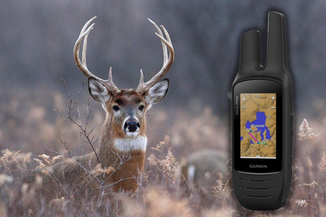 using gps device for deer hunting