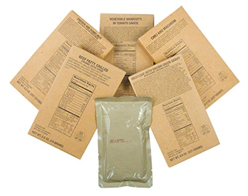 Captain Daves 12 Military MRE Entrees