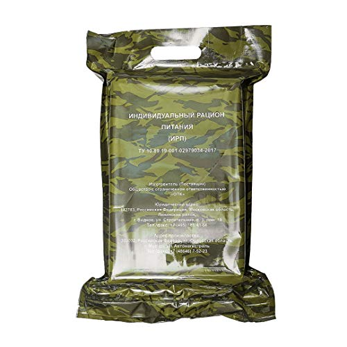 Irprus Military MRE (Meals Ready-To-Eat) Daily Russian Army Food Ration Pack