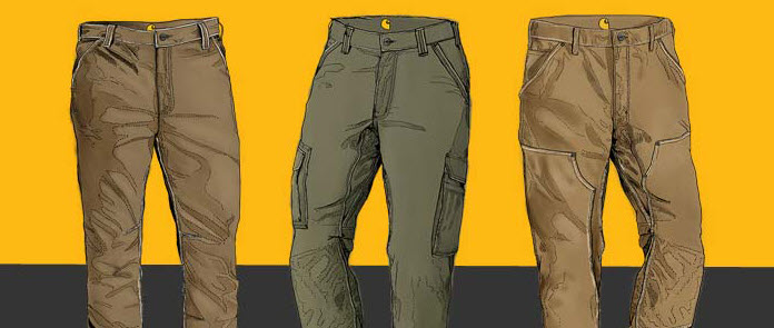 cargo pant types