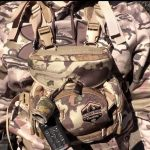 hunting backpack accessory pouches and holsters