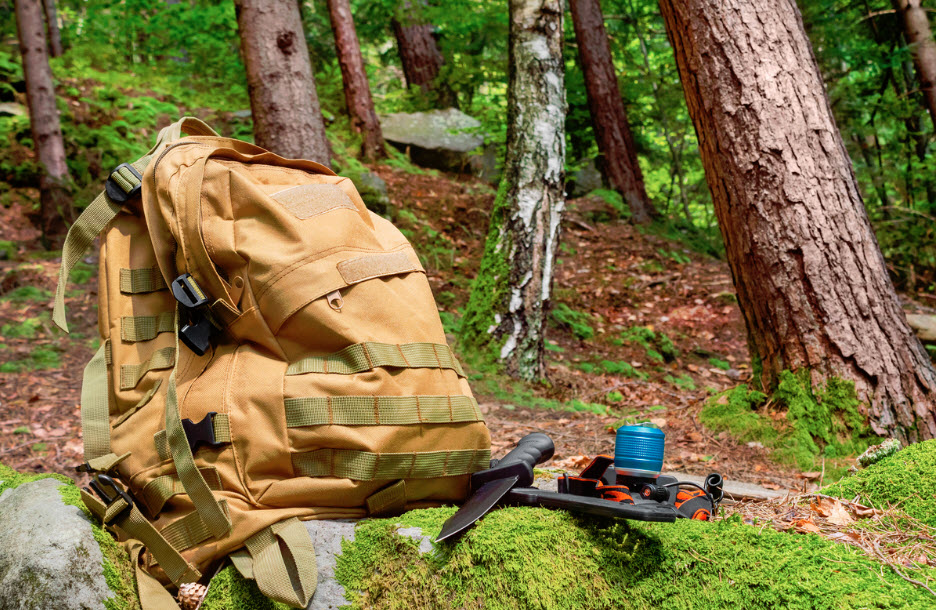 how to lighten Hunting Backpack