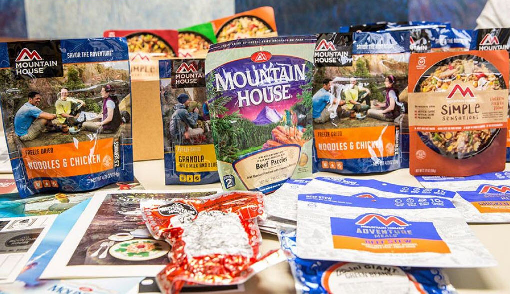best mountain house meals