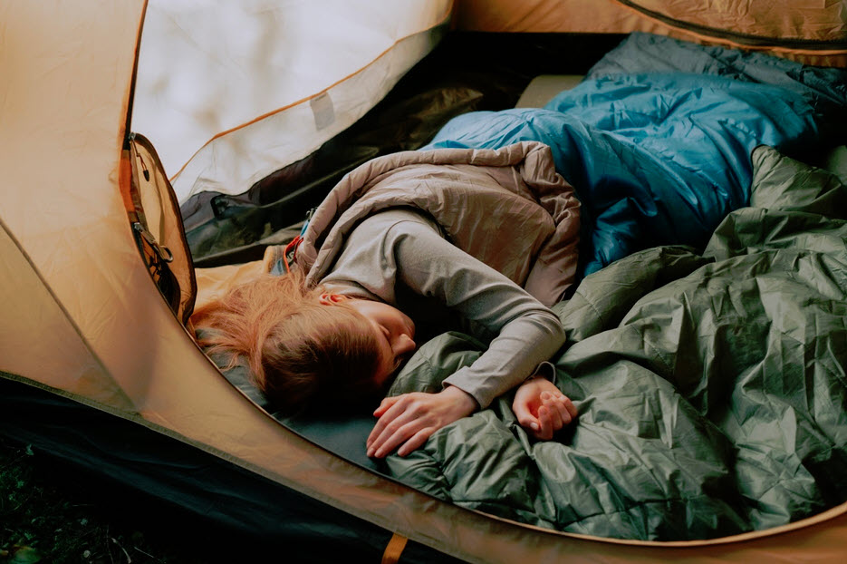 how to choose sleeping bag for camping