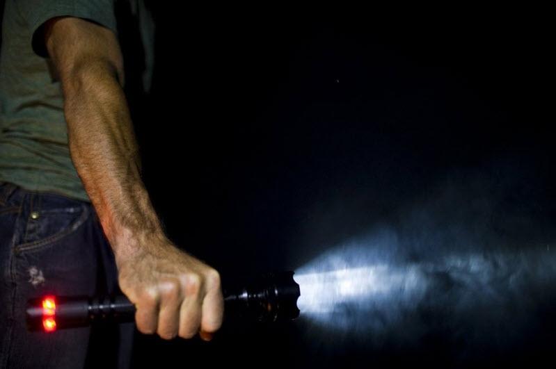 What is a strobe flashlight