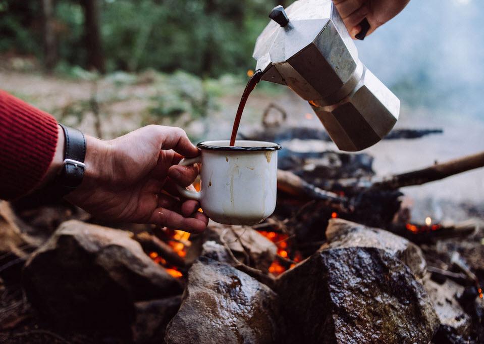 Ways to make Coffee while Camping