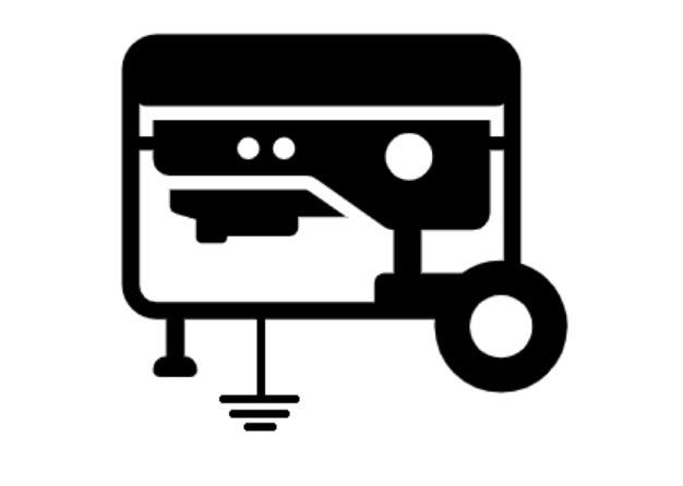 grounded generator symbol