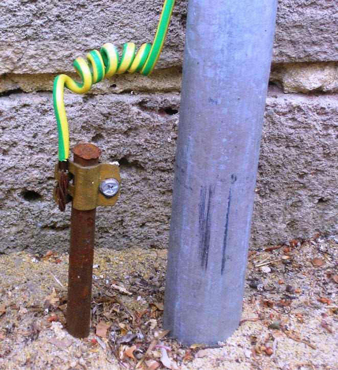 how to do grounding of a generator