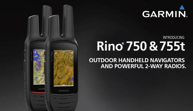 Garmin Rino 755t, Rugged Handheld 2-Way Radio/GPS Navigator