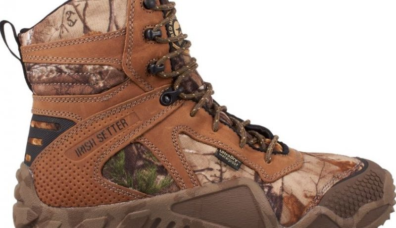 Irish Setter Men's Vaprtrek 8″ 400 Gram Hunting Boots