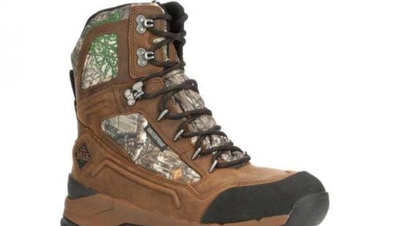 Muck Boot Men's Summit Lace 8″ Rain Boot