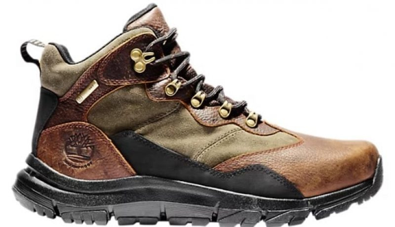 Timberland Men's Garrison Field Mid Waterproof Hiker Boot