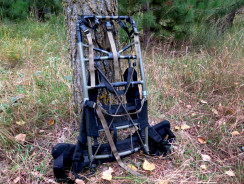 How to Turn an Old Backpack into a Stand and Gear Hauler