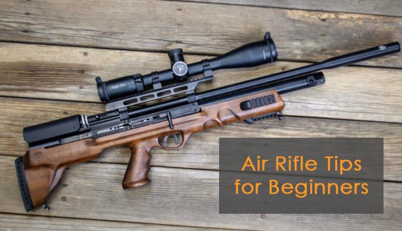 Useful Beginner Tips for Air Rifle Users