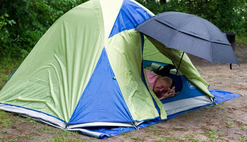 Camping In The Rain Made Easy – The Guide That Spills It All Out